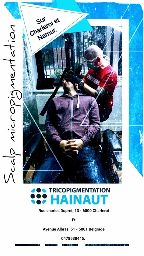 Formation micropigmentation et tricopigmentation à Namur et Charleroi en Belgique