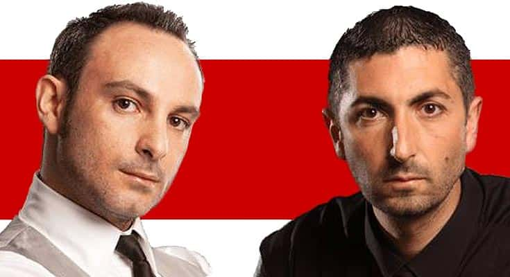 Toni Belfatto et Ennio Orsini